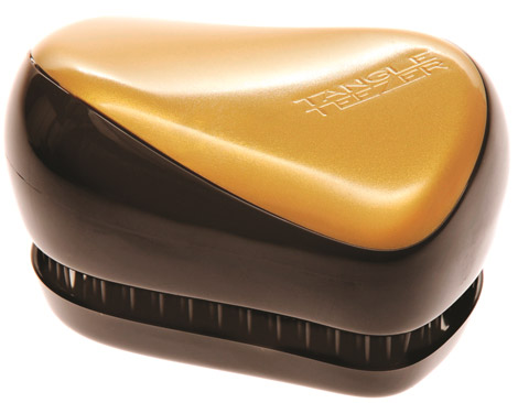 Tangle Teezer kompakt gull -