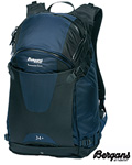 Bergans Backcountry sekk 34 l marine/svart -