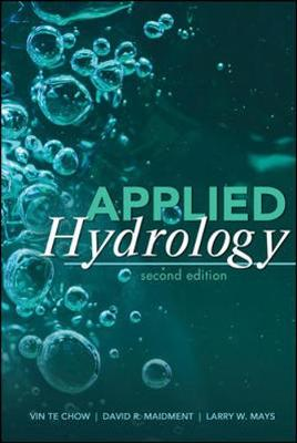 Applied Hydrology - Ven Te Chow